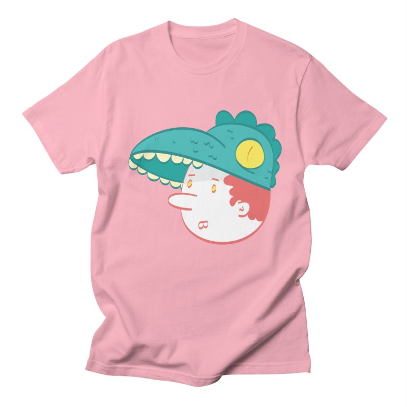 Dino Boy Men's Regular T-Shirt by thiagoegg's Artist Shop