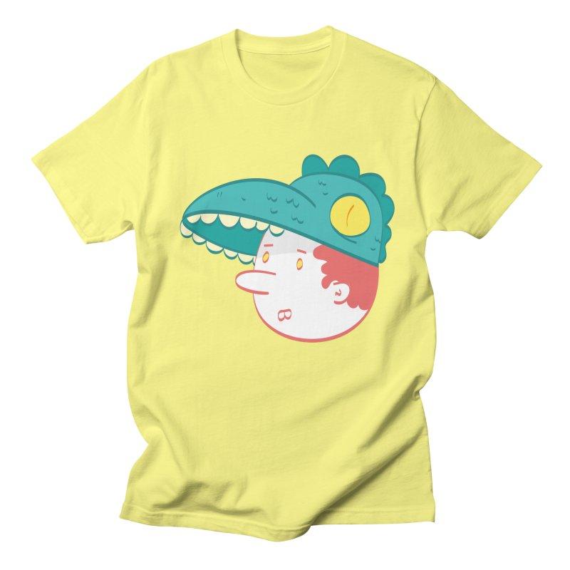 Dino Boy Men's Regular T-Shirt by thiagoegg's Artist Shop