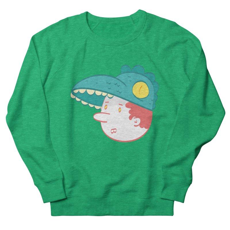 Dino Boy Women's French Terry Sweatshirt by thiagoegg's Artist Shop