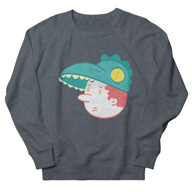 Dino Boy Women's Sweatshirt by thiagoegg's Artist Shop