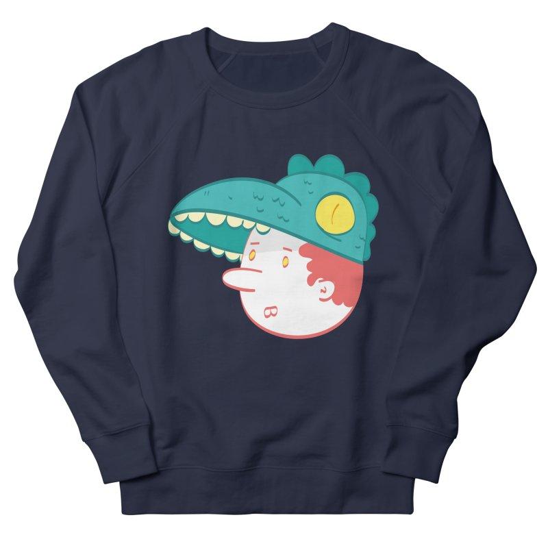 Dino Boy Women's Sweatshirt by thiagoegg's Artist Shop