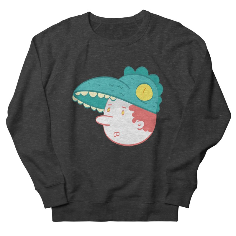 Dino Boy Men's Sweatshirt by thiagoegg's Artist Shop