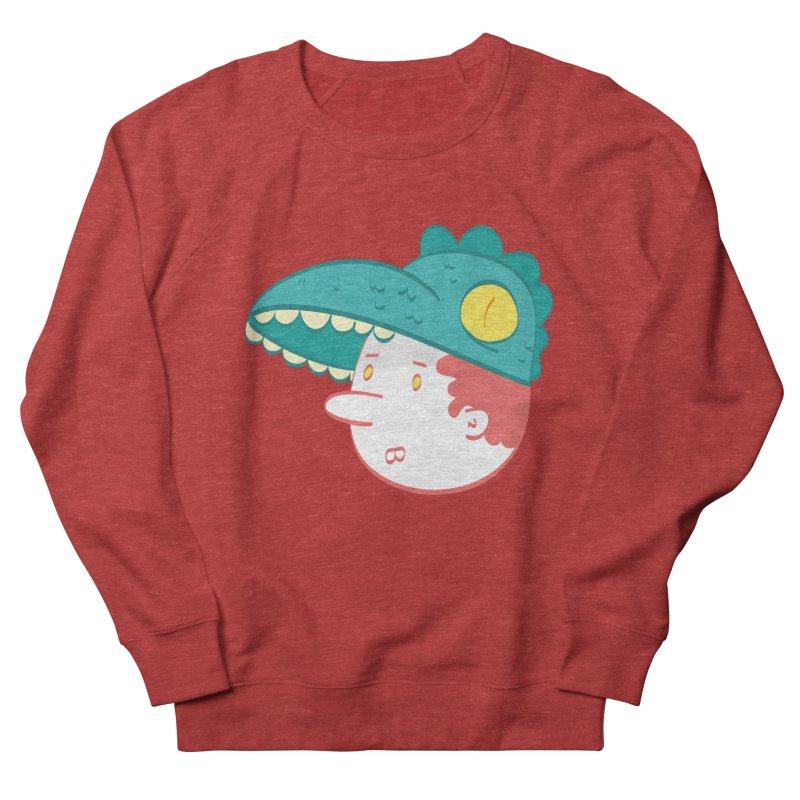 Dino Boy Men's French Terry Sweatshirt by thiagoegg's Artist Shop
