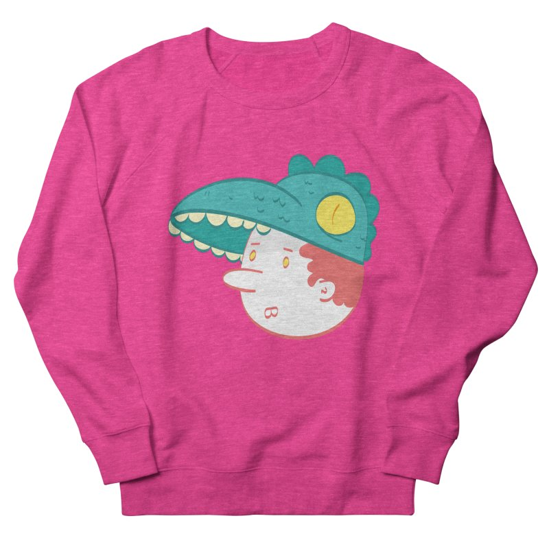Dino Boy Men's Sweatshirt by thiagoegg's Artist Shop