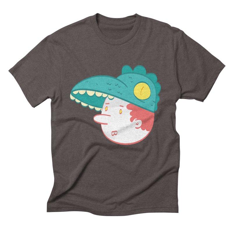 Dino Boy Men's Triblend T-shirt by thiagoegg's Artist Shop