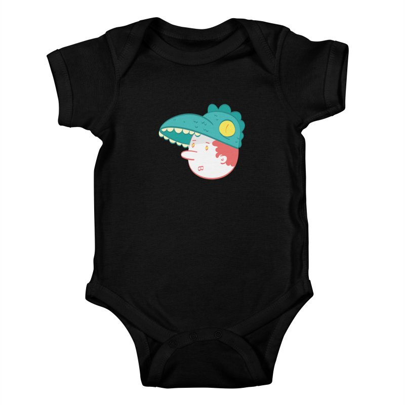 Dino Boy Kids Baby Bodysuit by thiagoegg's Artist Shop