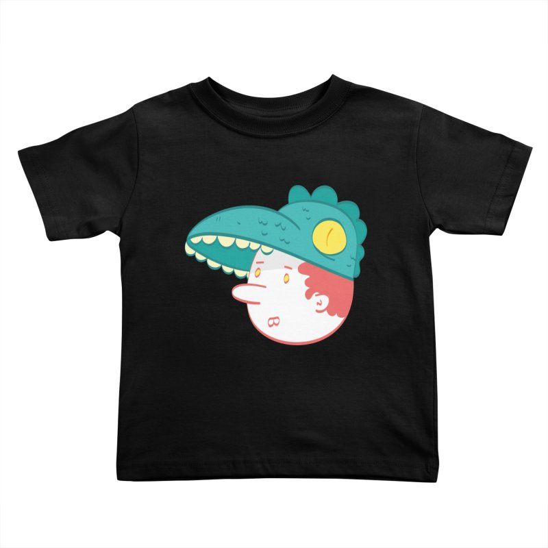 Dino Boy Kids Toddler T-Shirt by thiagoegg's Artist Shop