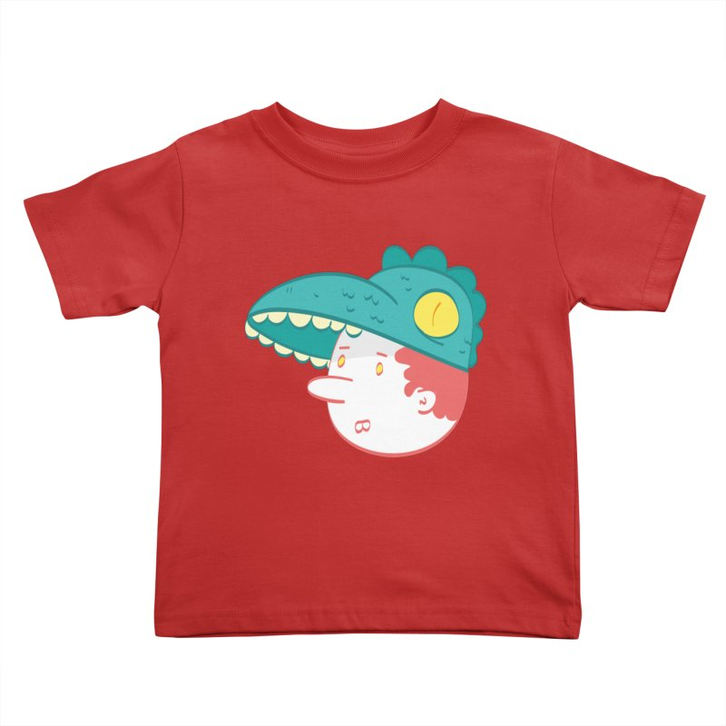 Dino Boy Kids Toddler T-Shirt by thiagoegg's Artist Shop