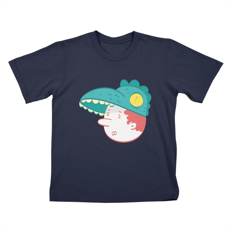 Dino Boy Kids T-Shirt by thiagoegg's Artist Shop