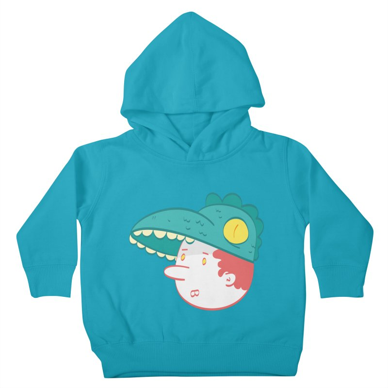 Dino Boy Kids Toddler Pullover Hoody by thiagoegg's Artist Shop