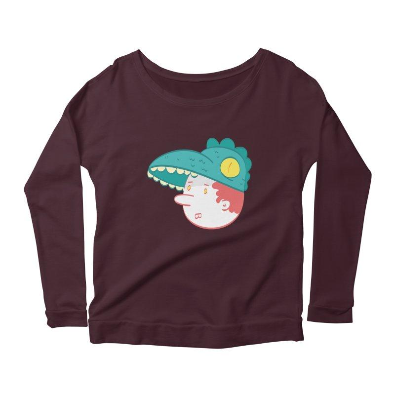 Dino Boy Women's Longsleeve T-Shirt by thiagoegg's Artist Shop