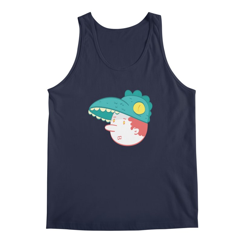 Dino Boy Men's Tank by thiagoegg's Artist Shop