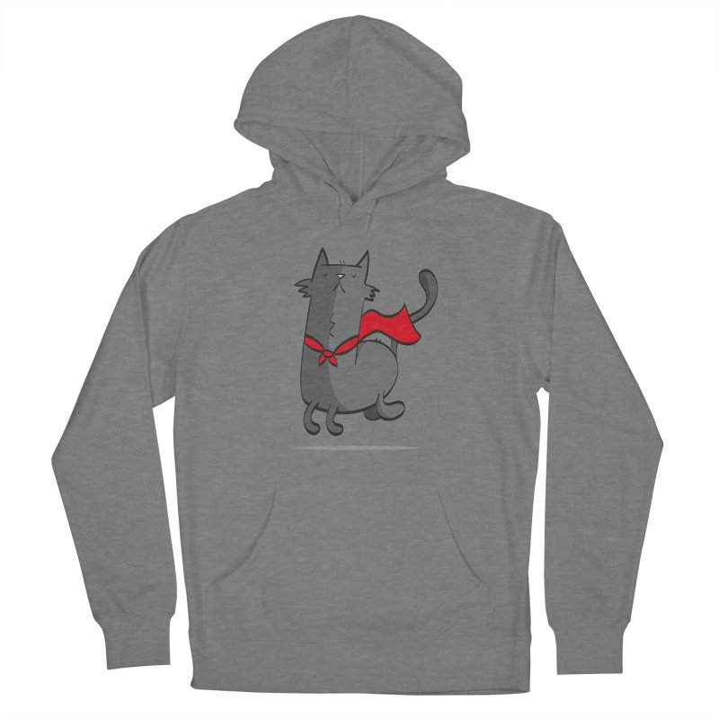 Super Cat Women's Pullover Hoody by thiagoegg's Artist Shop