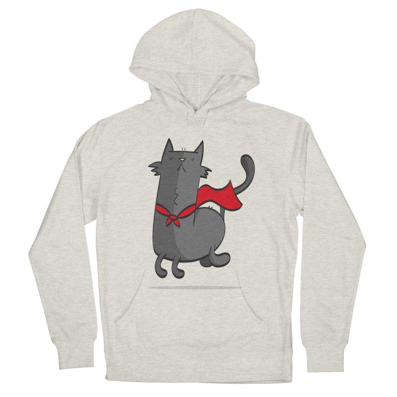 Super Cat Women's Pullover Hoody by thiagoegg's Artist Shop
