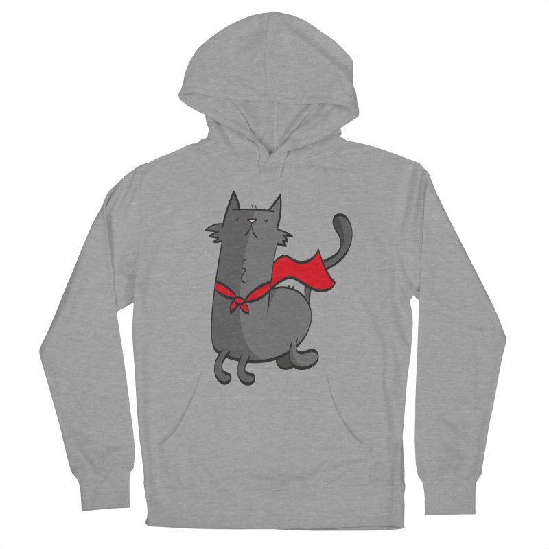 Super Cat Men's Pullover Hoody by thiagoegg's Artist Shop