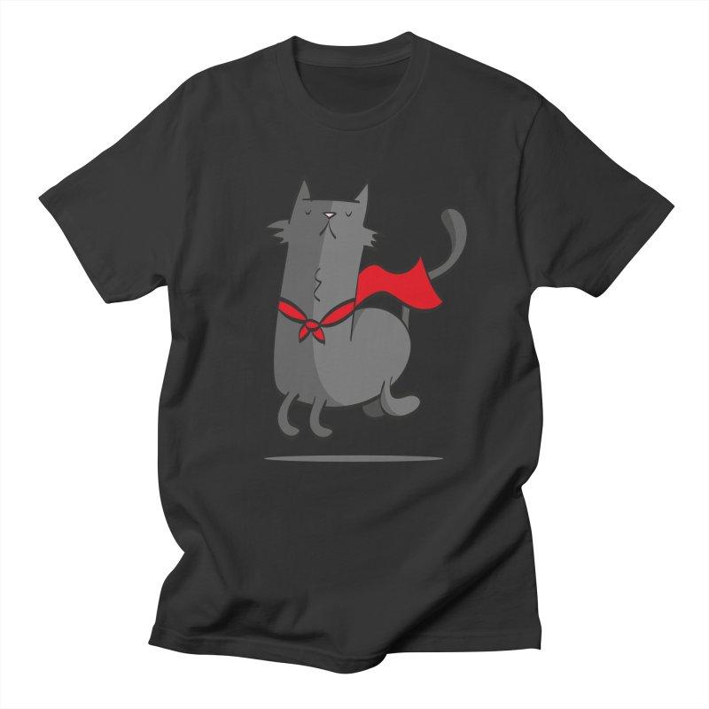 Super Cat Men's T-Shirt by thiagoegg's Artist Shop