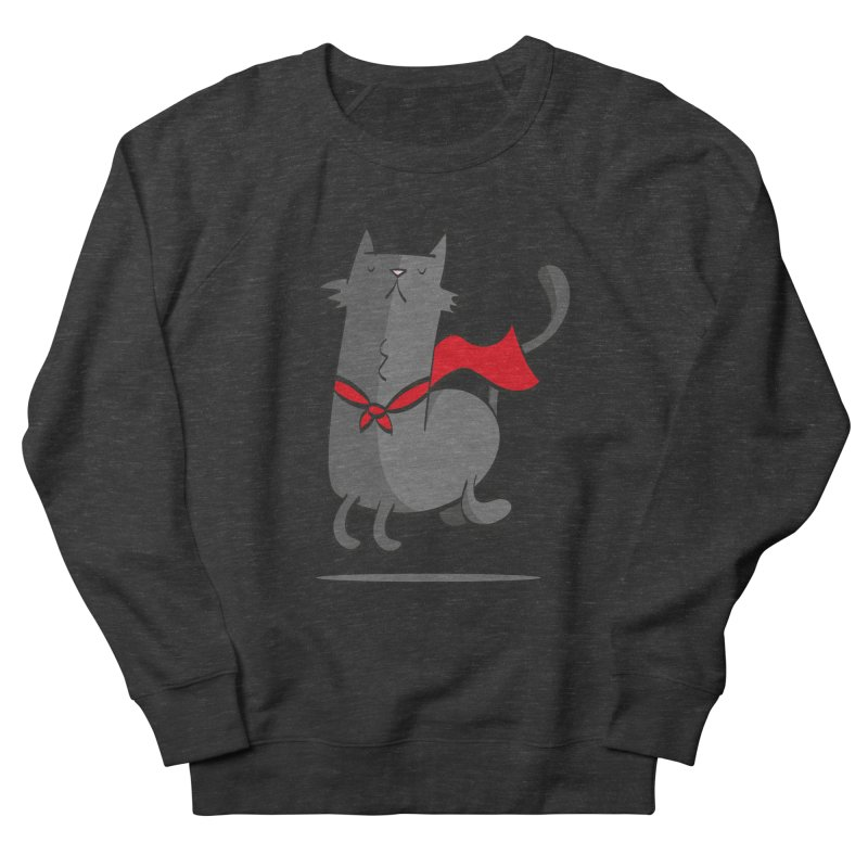 Super Cat Women's Sweatshirt by thiagoegg's Artist Shop