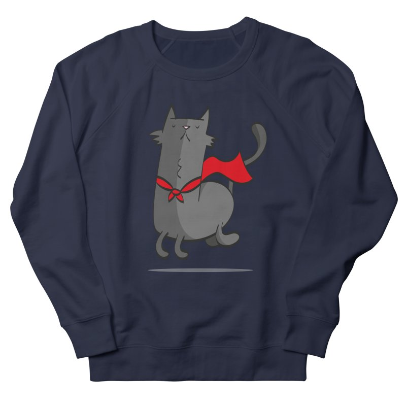 Super Cat Men's Sweatshirt by thiagoegg's Artist Shop