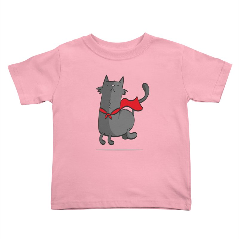 Super Cat Kids Toddler T-Shirt by thiagoegg's Artist Shop