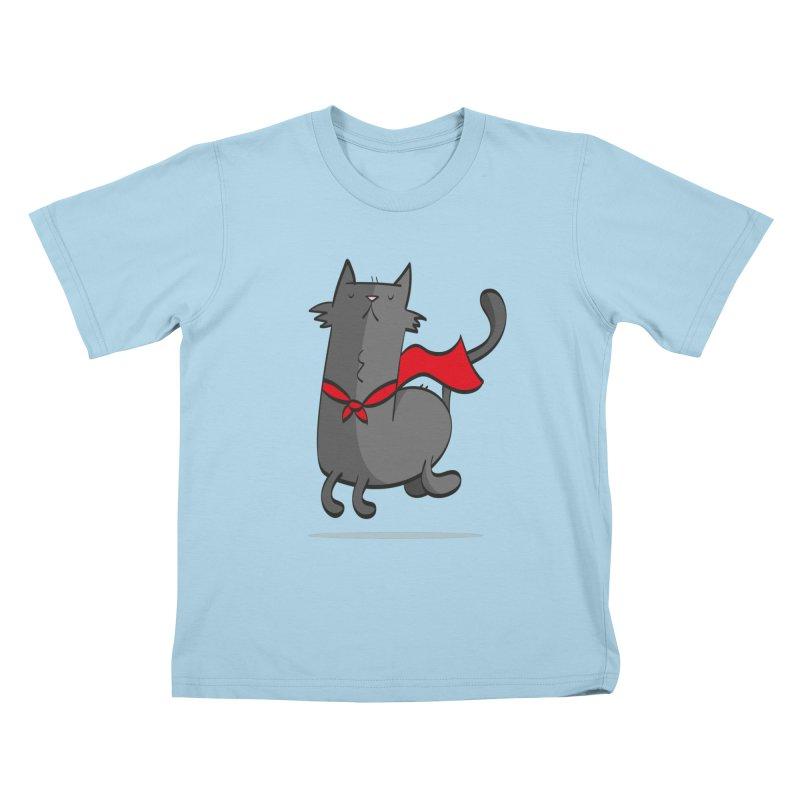Super Cat Kids T-Shirt by thiagoegg's Artist Shop