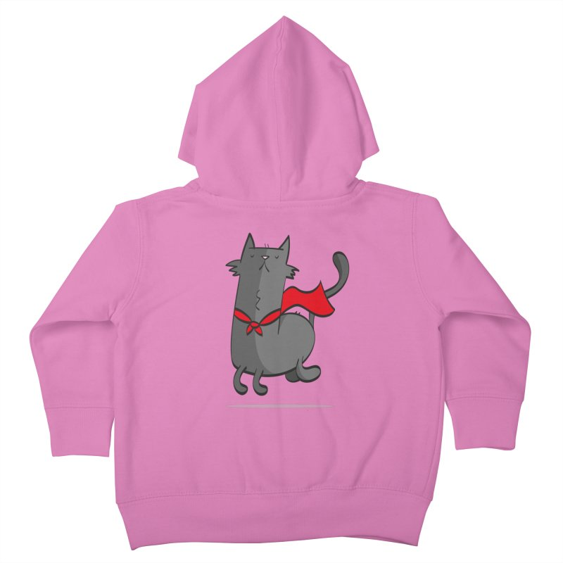Super Cat Kids Toddler Zip-Up Hoody by thiagoegg's Artist Shop