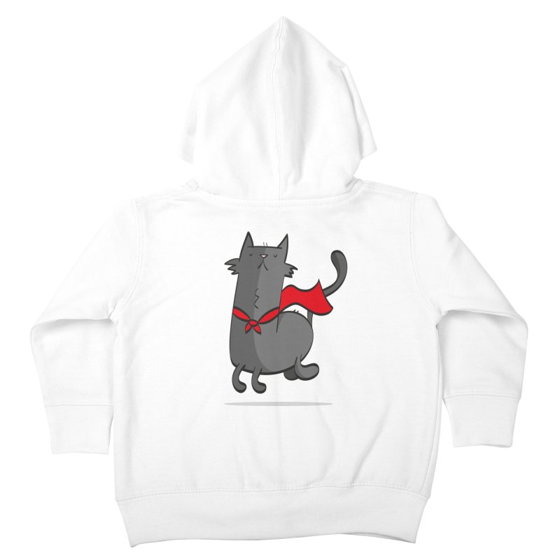 Super Cat Kids Toddler Zip-Up Hoody by thiagoegg's Artist Shop