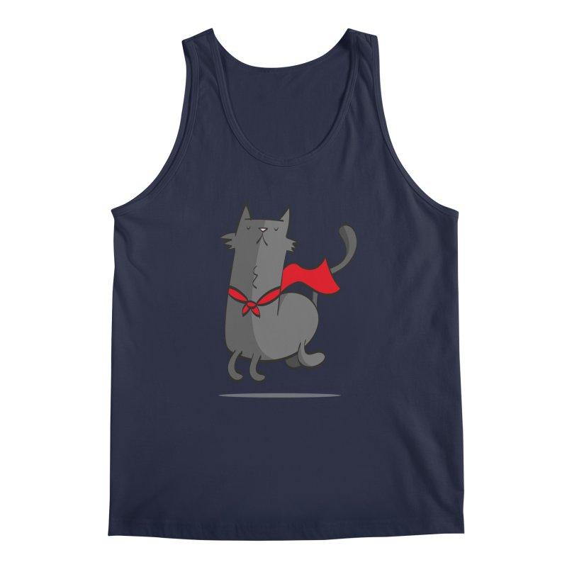 Super Cat Men's Tank by thiagoegg's Artist Shop