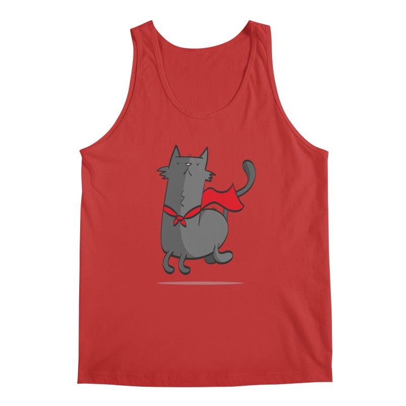 Super Cat Men's Regular Tank by thiagoegg's Artist Shop