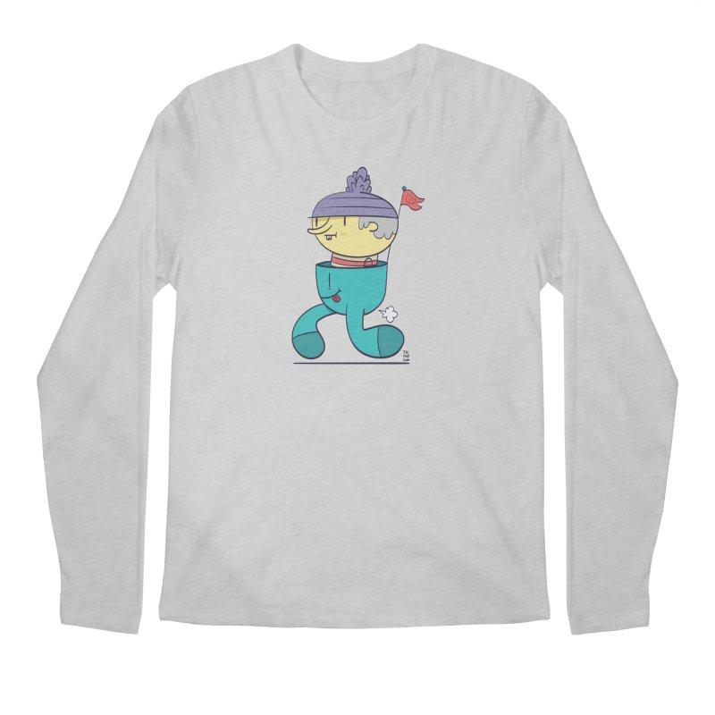 Walker Men's Regular Longsleeve T-Shirt by thiagoegg's Artist Shop