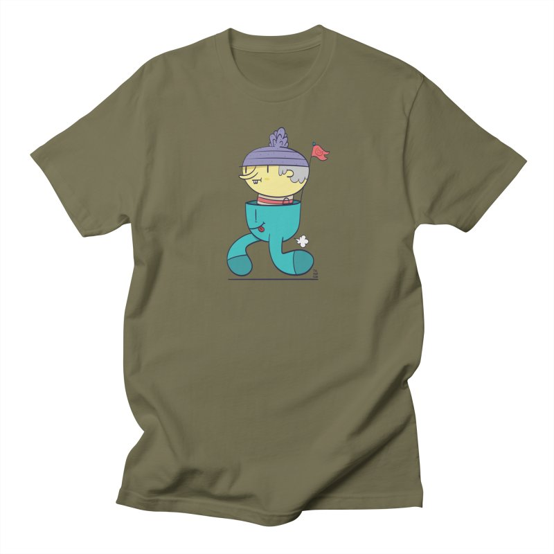 Walker Men's T-Shirt by thiagoegg's Artist Shop