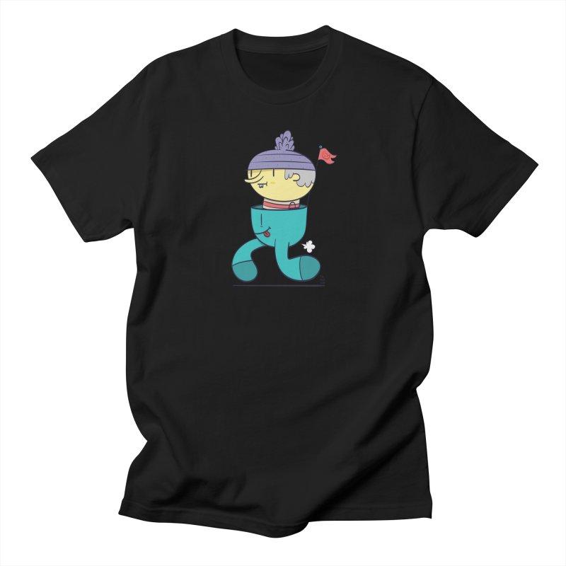 Walker Men's Regular T-Shirt by thiagoegg's Artist Shop