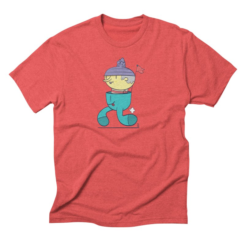 Walker Men's Triblend T-Shirt by thiagoegg's Artist Shop