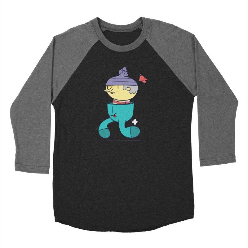 Walker Men's Baseball Triblend Longsleeve T-Shirt by thiagoegg's Artist Shop