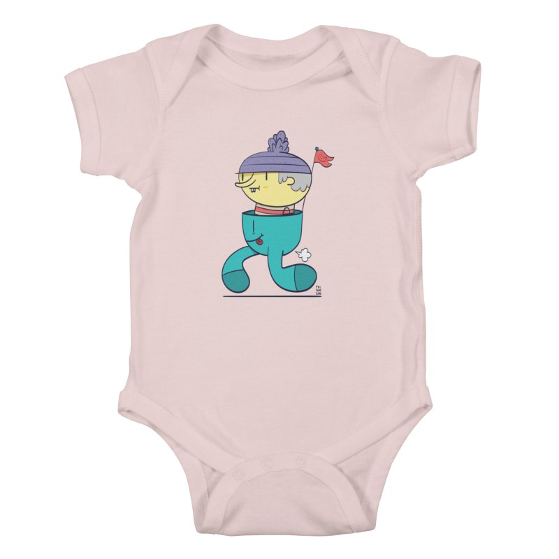 Walker Kids Baby Bodysuit by thiagoegg's Artist Shop