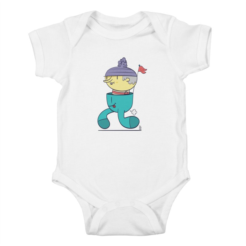 Walker Kids Baby Bodysuit by thiagoegg's Artist Shop