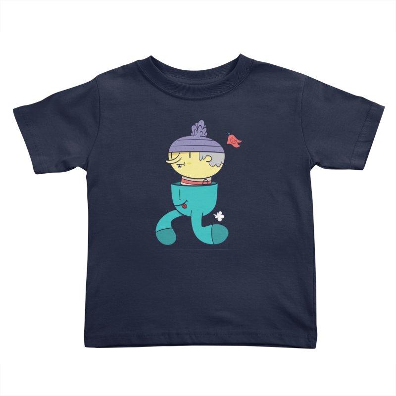 Walker Kids Toddler T-Shirt by thiagoegg's Artist Shop