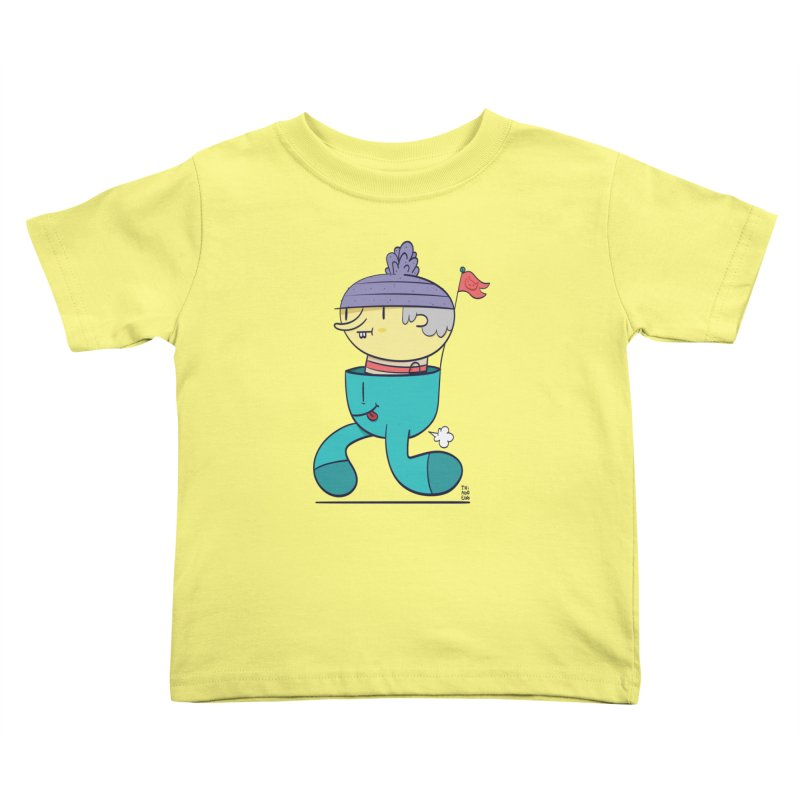 Walker Kids Toddler T-Shirt by thiagoegg's Artist Shop