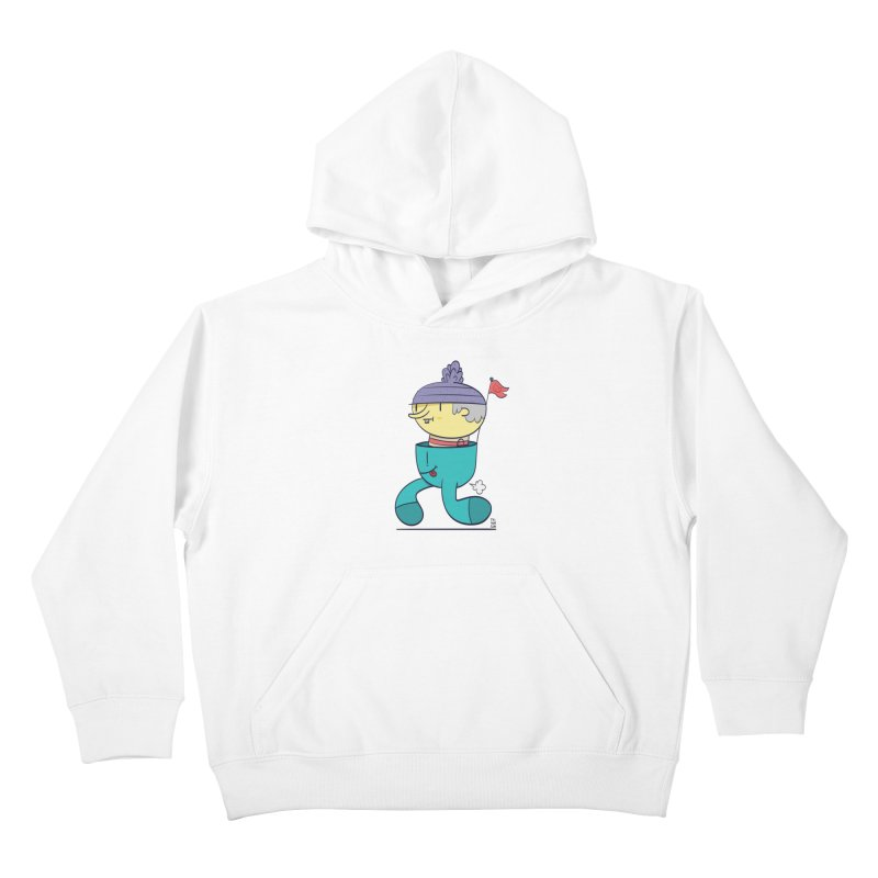 Walker Kids Pullover Hoody by thiagoegg's Artist Shop