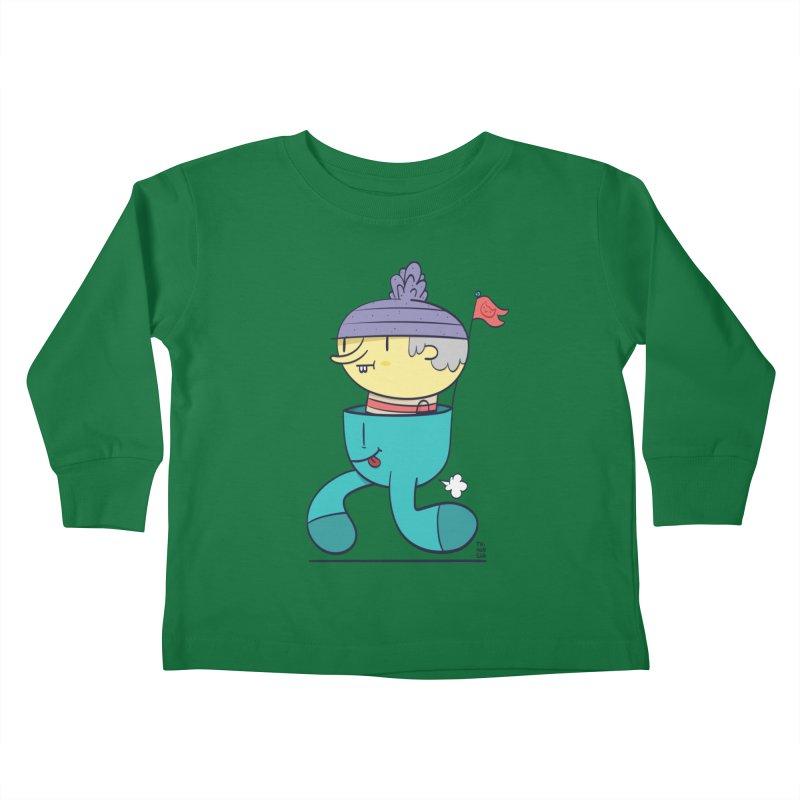 Walker Kids Toddler Longsleeve T-Shirt by thiagoegg's Artist Shop