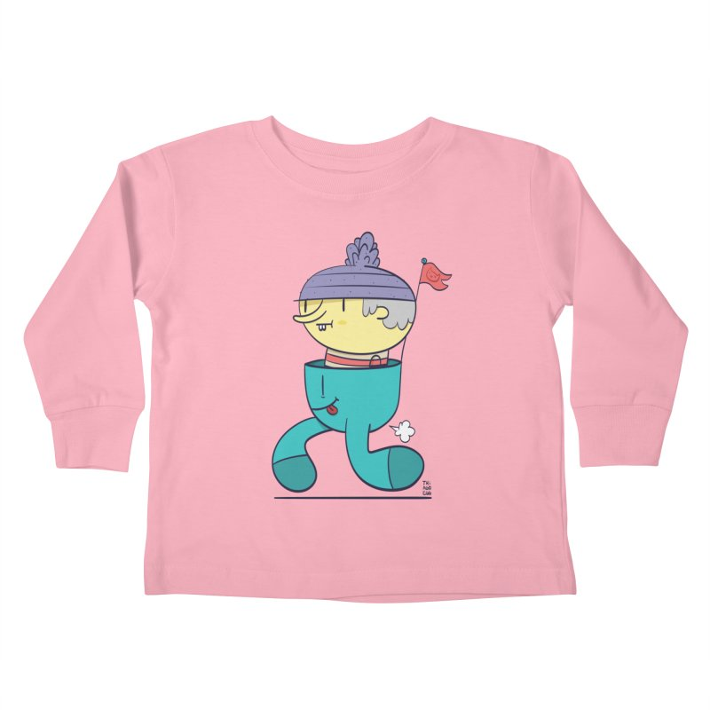 Walker Kids Toddler Longsleeve T-Shirt by thiagoegg's Artist Shop