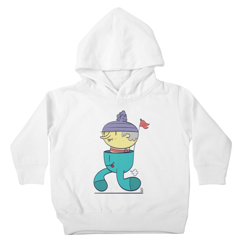 Walker Kids Toddler Pullover Hoody by thiagoegg's Artist Shop