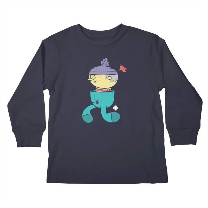 Walker Kids Longsleeve T-Shirt by thiagoegg's Artist Shop
