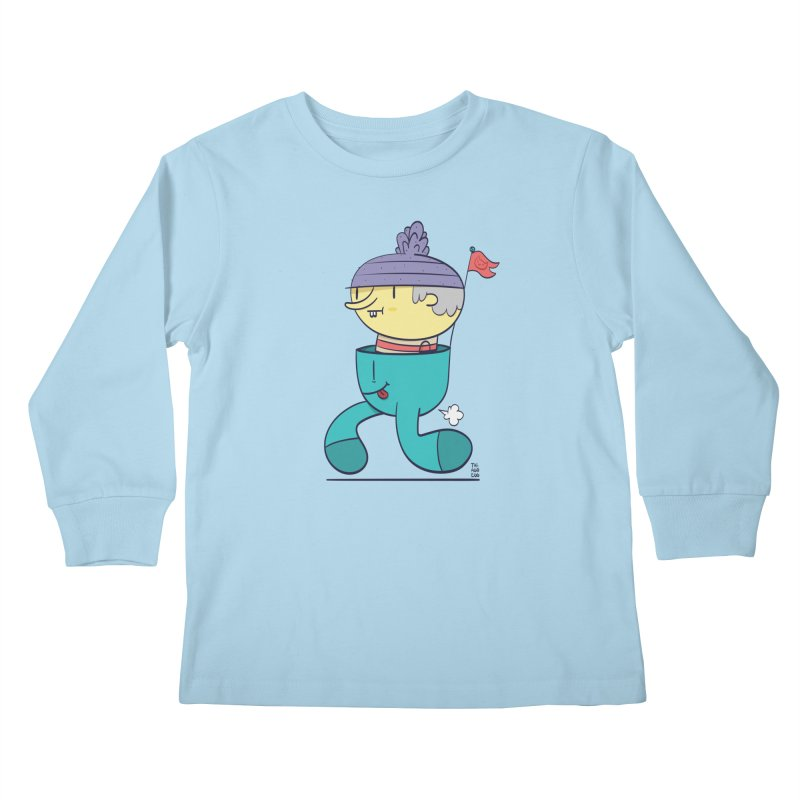 Walker Kids Longsleeve T-Shirt by thiagoegg's Artist Shop