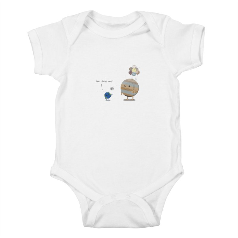 Oh, Jupiter! Kids Baby Bodysuit by thibault's Artist Shop