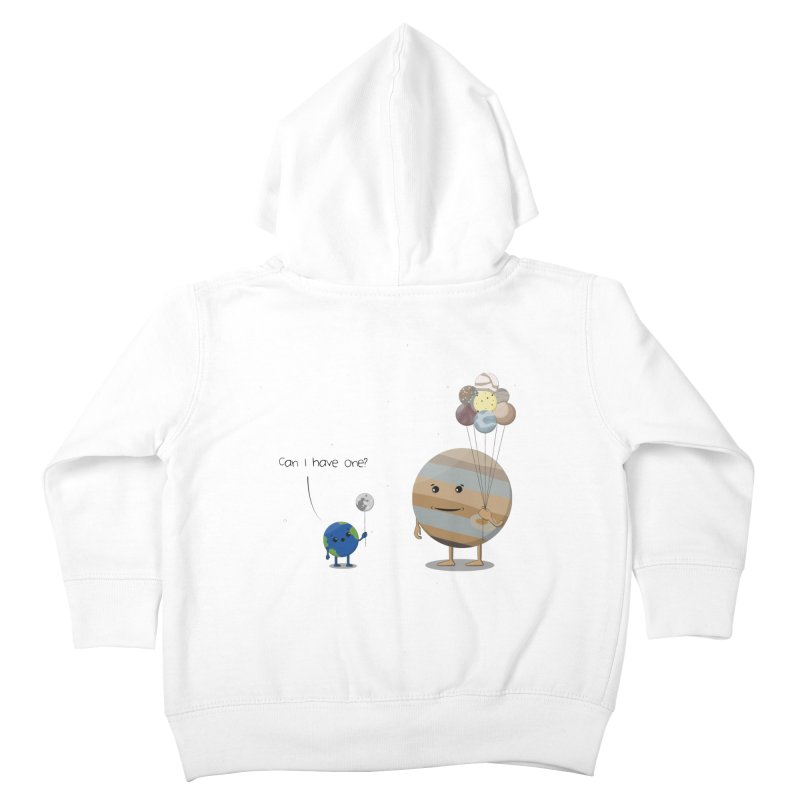 Oh, Jupiter! Kids Toddler Zip-Up Hoody by thibault's Artist Shop