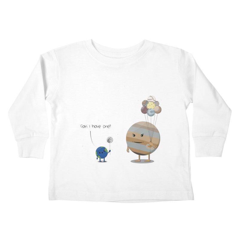 Oh, Jupiter! Kids Toddler Longsleeve T-Shirt by thibault's Artist Shop