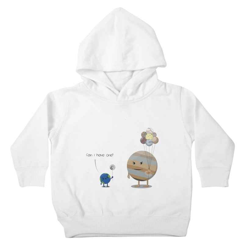 Oh, Jupiter! Kids Toddler Pullover Hoody by thibault's Artist Shop