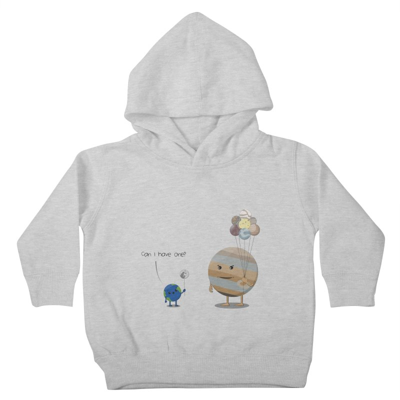 Oh, Jupiter! Kids Toddler Pullover Hoody by thibault's Artist Shop