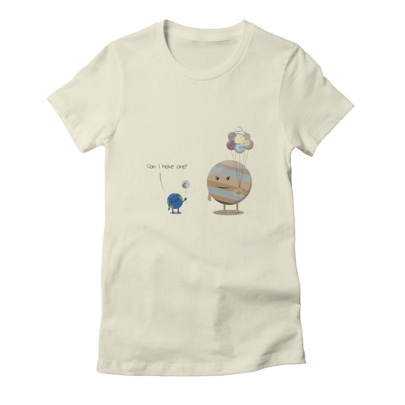 Oh, Jupiter! Women's Fitted T-Shirt by thibault's Artist Shop