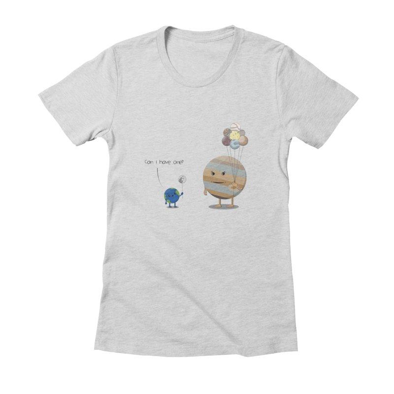 Oh, Jupiter! Women's Fitted T-Shirt by thibault's Artist Shop